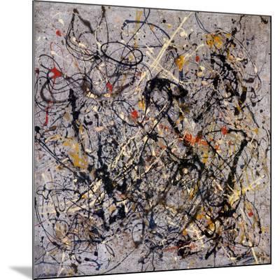 Number 18, 1950-Jackson Pollock-Mounted Print