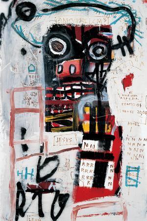 Number 1-Jean-Michel Basquiat-Giclee Print