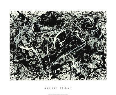 Number 33-1949-Jackson Pollock-Serigraph