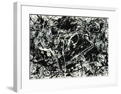 Number 33-1949-Jackson Pollock-Framed Serigraph