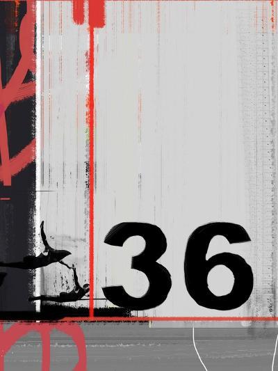 Number 36-NaxArt-Art Print