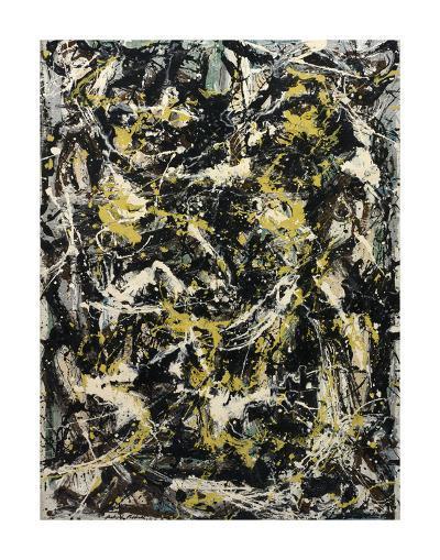 Number 5, 1950, 1950-Jackson Pollock-Art Print