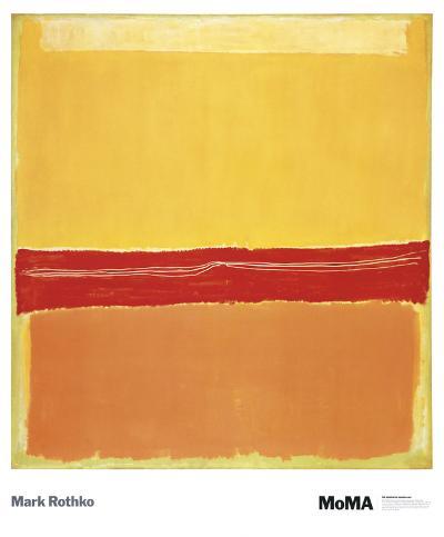 Number 5-Mark Rothko-Art Print