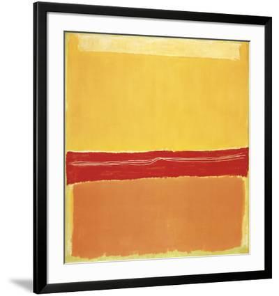 Number 5-Mark Rothko-Framed Art Print