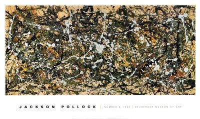 Number 8, 1949-Jackson Pollock-Art Print