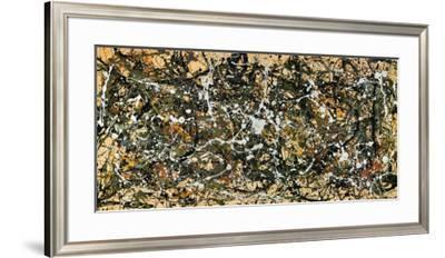Number 8, 1949-Jackson Pollock-Framed Art Print