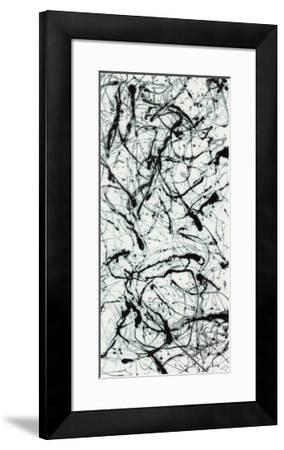 Number II A-Jackson Pollock-Framed Serigraph