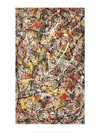 Number III-Jackson Pollock-Lithograph