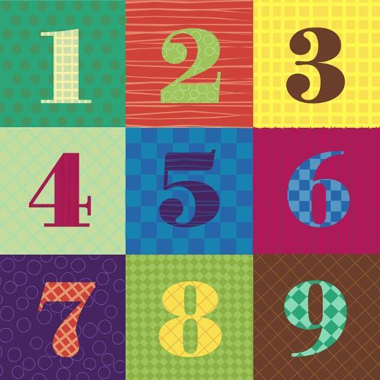 Numbercolors-Ali Lynne-Giclee Print
