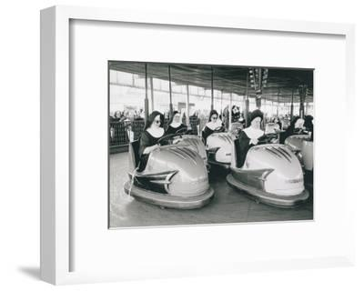 Nuns Driving Bumper Cars, France