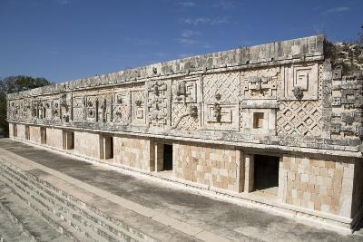 Nuns Quadrangle, Uxmal, Mayan Archaeological Site, Yucatan, Mexico, North America-Richard Maschmeyer-Photographic Print