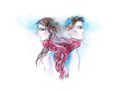 Nuptial Knot-okalinichenko-Art Print