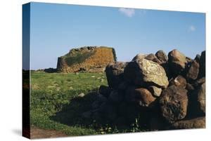 Nuraghe Losa, Near Abbasanta, Sardinia, Italy