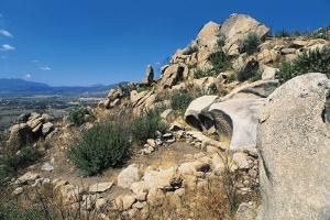 Nuragic Sanctuary Near Cabu Abbas, 14th-13th Century Bc, Olbia, Sardinia, Italy
