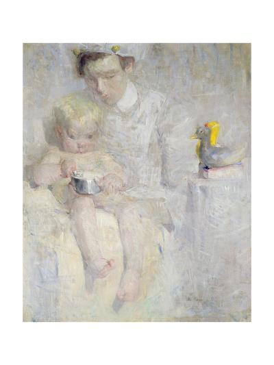 Nurse and Child-Beatrice How-Giclee Print