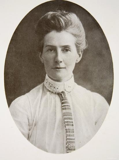 Nurse Edith Cavell, from The Year 1915: A Record of Notable Achievements and Events--Photographic Print
