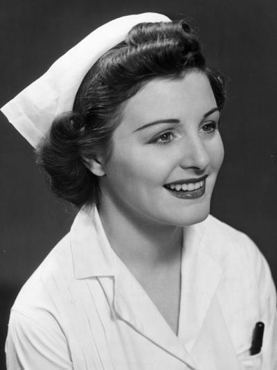 Nurse-George Marks-Photographic Print