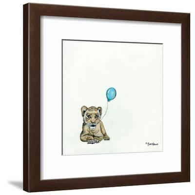 Nursery Lion-Britt Hallowell-Framed Giclee Print