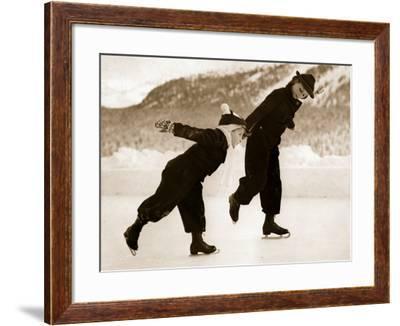 Nursery Slopes--Framed Photographic Print