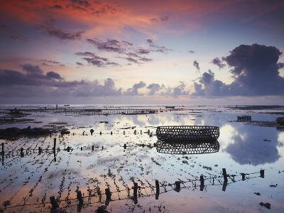 NUSA Lembongan at Dawn, Bali, Indonesia-Ian Trower-Photographic Print