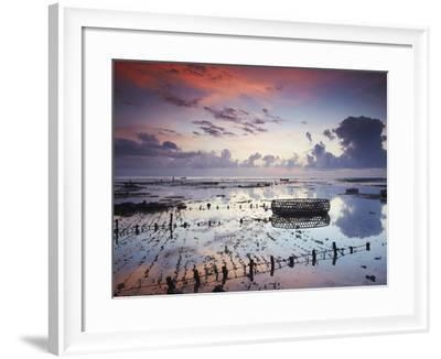 NUSA Lembongan at Dawn, Bali, Indonesia-Ian Trower-Framed Photographic Print