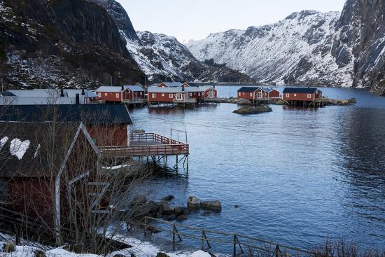 Nusfjord, Lofoten Islands, Arctic, Norway, Scandinavia-Sergio Pitamitz-Photographic Print