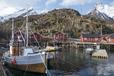 Nusfjord, Lofoten Islands, Nordland, Arctic, Norway, Scandinavia-Rolf Richardson-Photographic Print