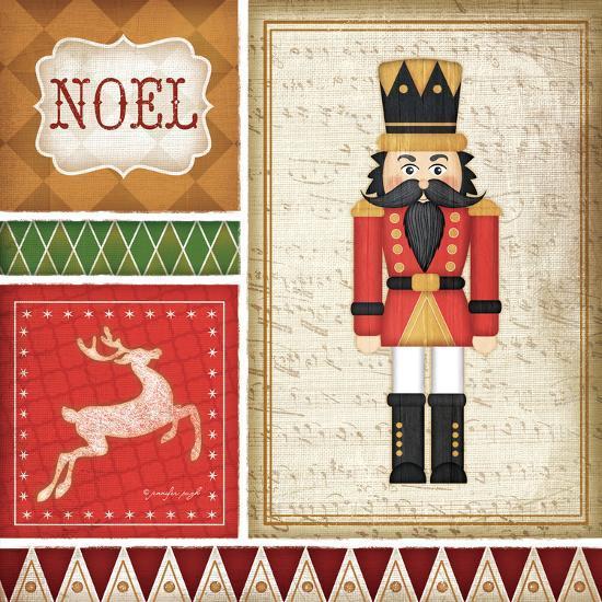 Nutcracker Noel-Jennifer Pugh-Art Print
