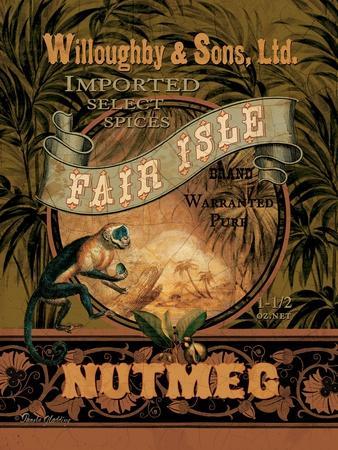 Nutmeg-Pamela Gladding-Art Print