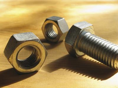 Nuts and Bolts-Carol & Mike Werner-Photographic Print