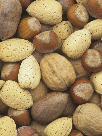 Nuts, Pecan, Walnut, Hazel and Almond-Wally Eberhart-Photographic Print