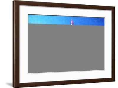 NY City Night - In the Style of Oil Painting-Philippe Hugonnard-Framed Giclee Print