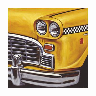 NY Taxi-Klaus Boekhoff-Limited Edition