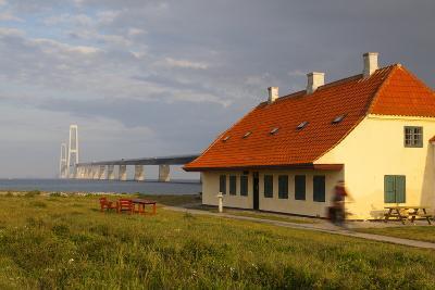 Nyborg-Korsor Bridge, Korsor, Southern Denmark, Denmark, Scandinavia, Europe-Doug Pearson-Photographic Print
