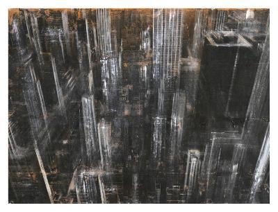 NYC Aerial 1-Dario Moschetta-Art Print