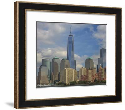 Nyc And Freedom Tower-Jason Matias-Framed Giclee Print