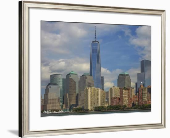 Nyc And Freedom Tower-Jason Matias-Framed Giclee Print