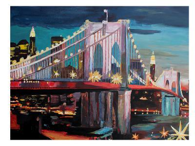NYC Bridge3-M Bleichner-Art Print