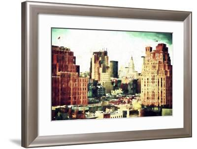 NYC Chelsea Buildings-Philippe Hugonnard-Framed Giclee Print