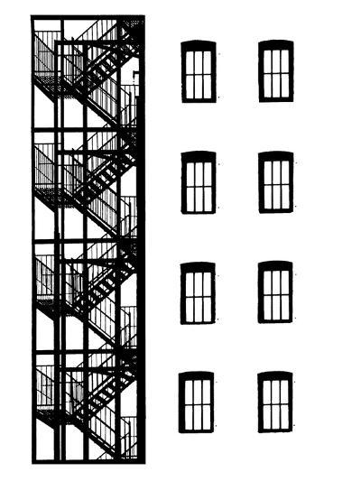 NYC in Pure B&W VII-Jeff Pica-Art Print