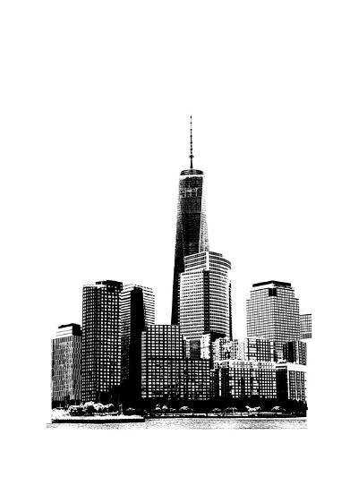 NYC in Pure B&W XIX-Jeff Pica-Art Print