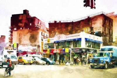 NYC Intersection-Philippe Hugonnard-Giclee Print