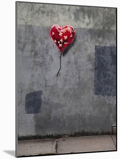 NYC Love-Banksy-Mounted Giclee Print