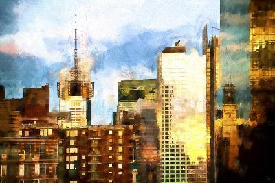 NYC Reflections Sunset-Philippe Hugonnard-Giclee Print
