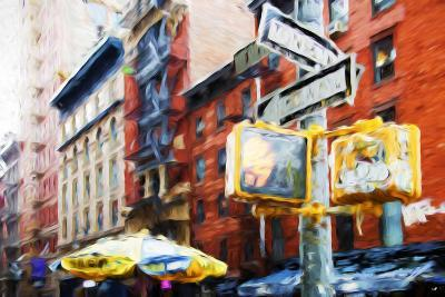 NYC Scenes - In the Style of Oil Painting-Philippe Hugonnard-Giclee Print