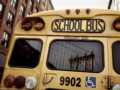 NYC School Bus-Nina Papiorek-Photographic Print
