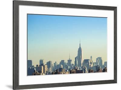 NYC Silhouettes II-Sonja Quintero-Framed Art Print