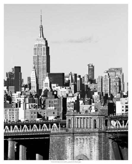 NYC Skyline II-Jeff Pica-Giclee Print