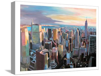 NYC Sunlght2-M Bleichner-Stretched Canvas Print