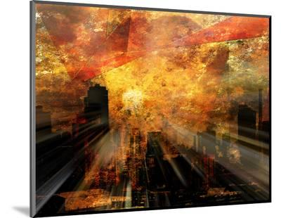 Nyc Sunlight-rolffimages-Mounted Print